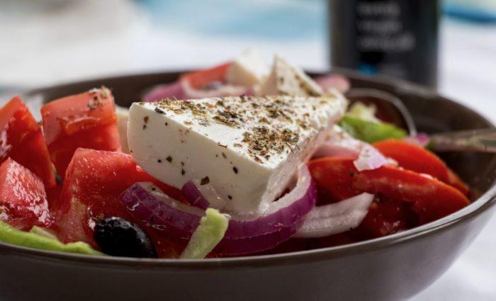 Mic dejun ficat gras: salata