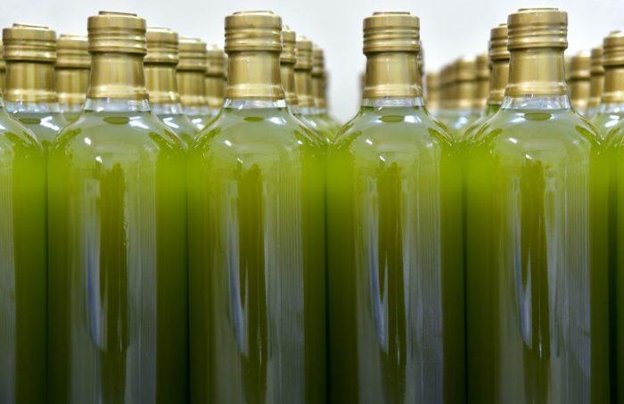 sticle de ulei de masline