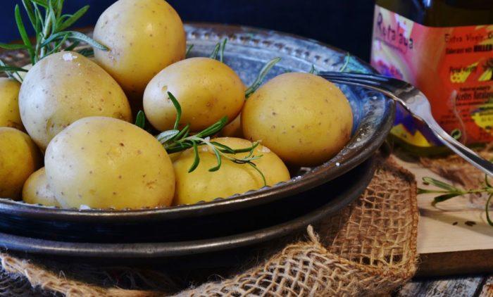 cartofi copti ficat gras