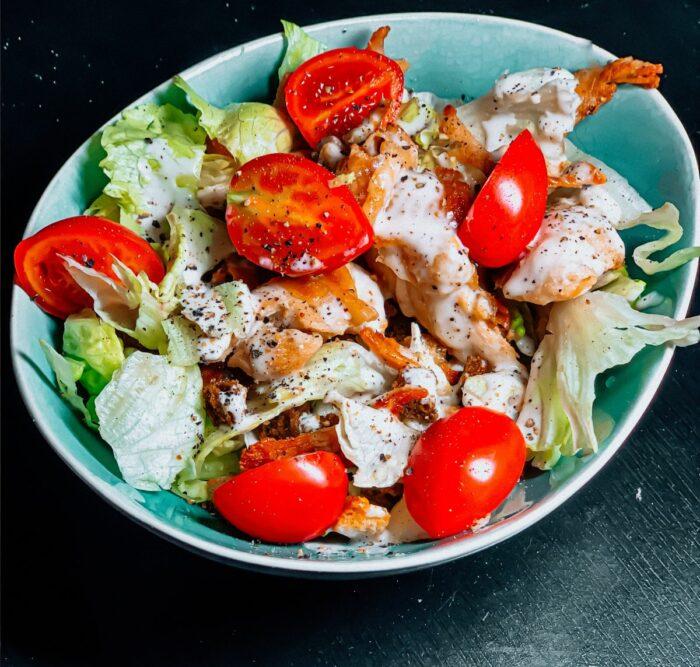 salata de pui pentru ficat gras